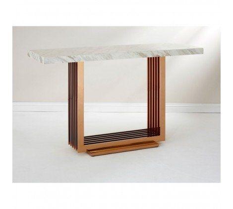 Moda Marble Console Table
