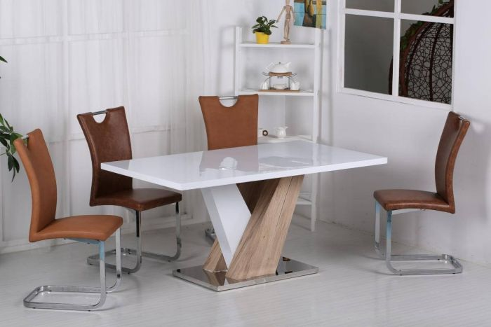 Natalia Dining Table and Chairs