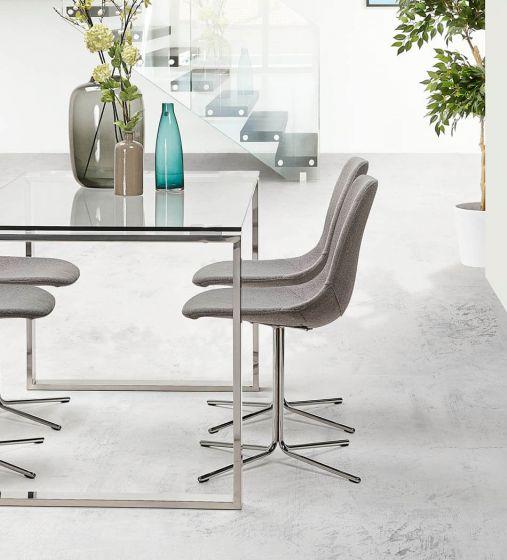 Nero Grey Wool Chair