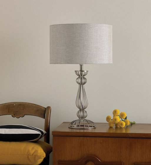 Noho Table Lamp in Chrome