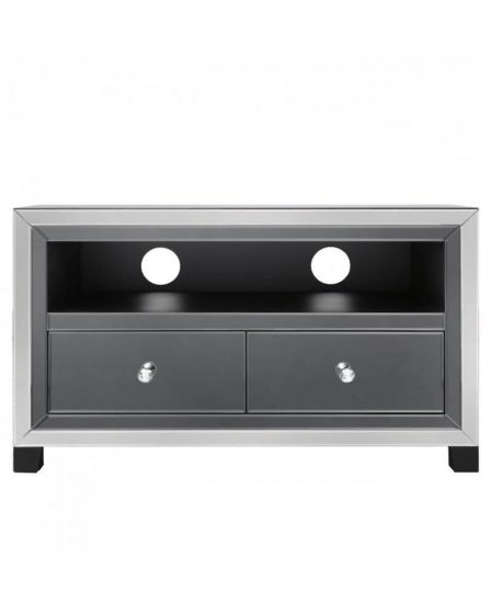 Oliver Smoked Glass TV Unit