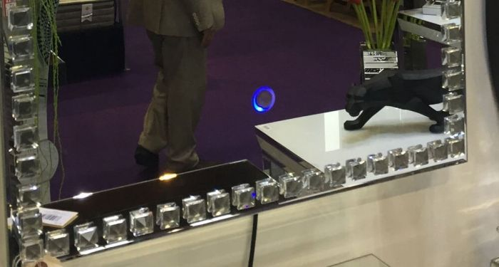 Orbit LED Wall Mirror