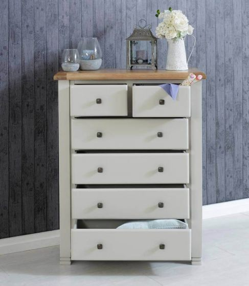 Oxfordshire 6 Drawer Tall Chest