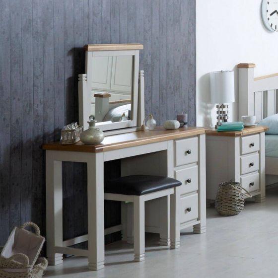 Oxfordshire Oak Dresser - Grey