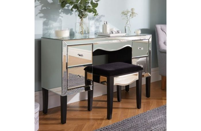 Palma Mirrored Dressing Table