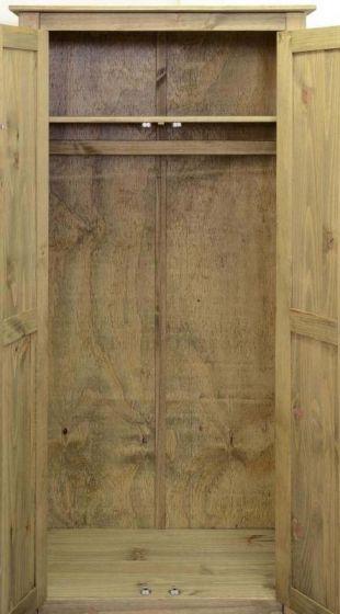 Panama Bedroom Set in Natural Wax