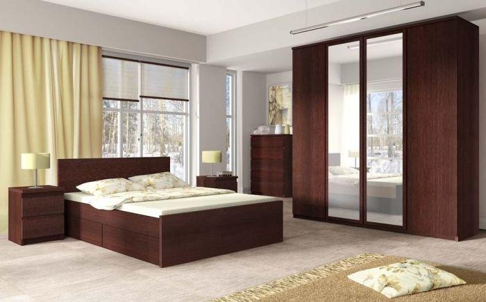 Pello Mahogany Bed Frames