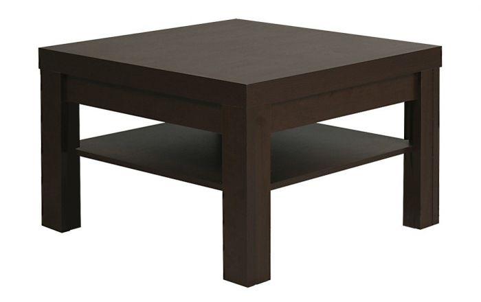 Pello Small Coffee Table In Dark Mahogany