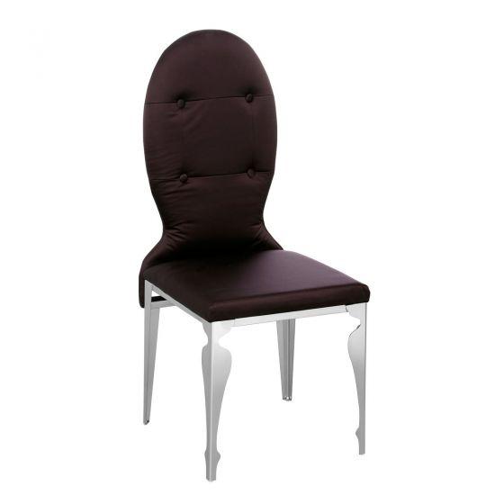 Premier Purple Silk Chair