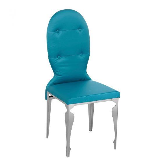 Premier Blue Teal Silk Chair
