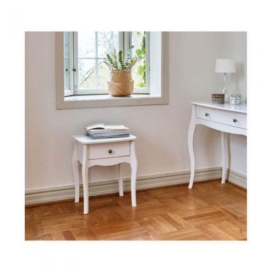 Provence Inspired White Bedsides