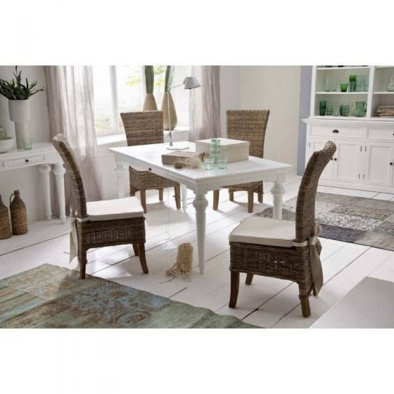 General Prices Meta Information Images Design Gift Options Shipping Inventory Categories Related Products Up-sells Cross-sells Product Reviews Product Tags Customers Tagged Product Associated Products Provence White Mahogany Dining Table