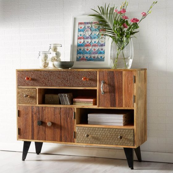 Retro Patch Sideboard