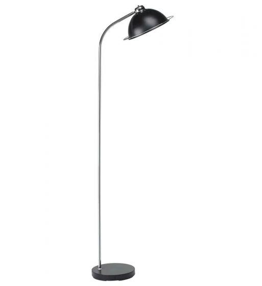 Retro Matt Black Floor Lamp