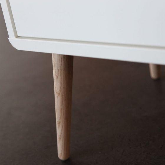 Retro Scandinavian Bedside Cabinet