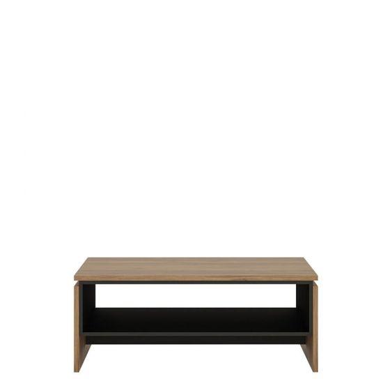 Rolo Coffee Table in Dark Wood