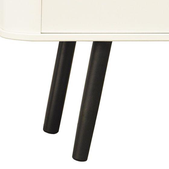 Scandinavian Style White Wide TV Cabinet