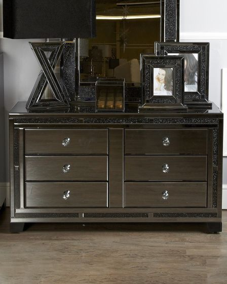 Smoked Glass Jersey Chest