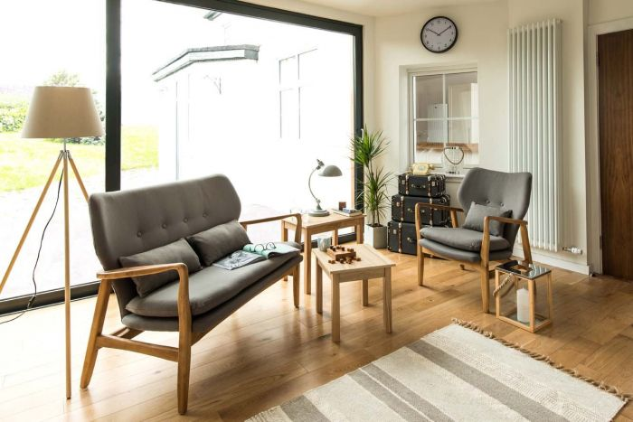 Grey Stockholm Chair
