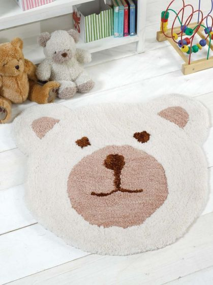 Teddy Bear Natural 75X80cm Rug
