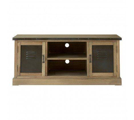 Village Loft 2 Door TV Cabinet