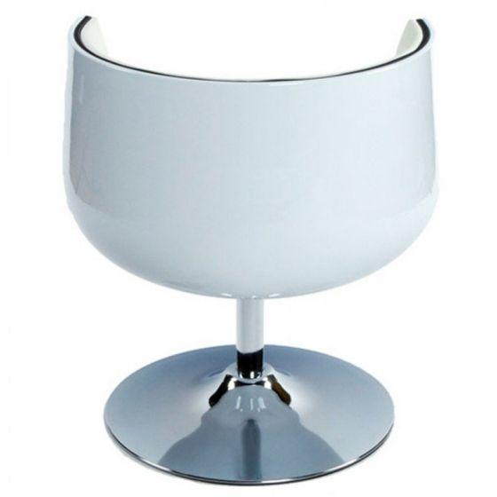 Vela Half Chairs - White