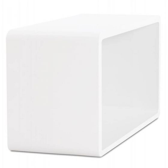 White Retro Rectangular Coffee Tables