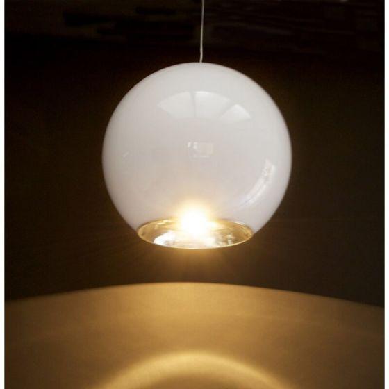 White Round Spotlight Ceiling Light