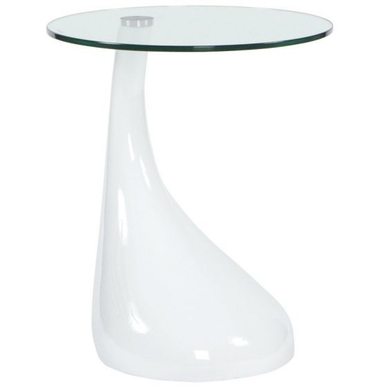 White Retro Small Table