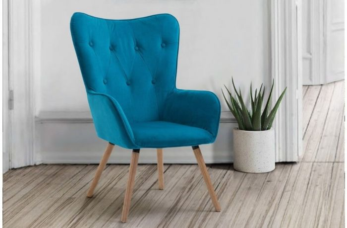 Willow Retro Scandinavian Style Chair