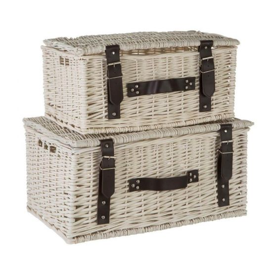 Willow Set of 2 Storage Baskets