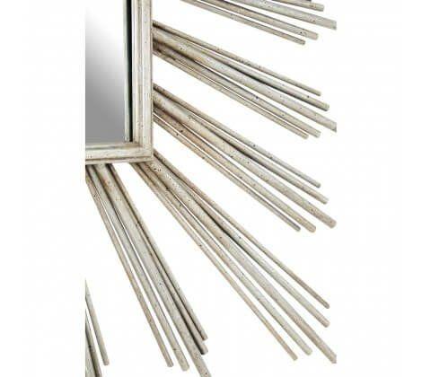 Zara Sunburst Silver Mirror