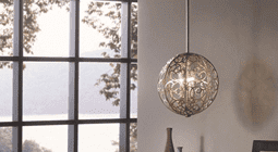 Ceiling Lights in Metal