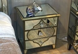 Mirrored Furniture | Mirrored Bedroom Furniture | Glass ...