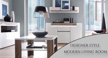 A Designer Style Modern Living Room