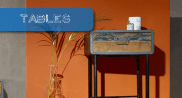 Industrial Style Side Tables